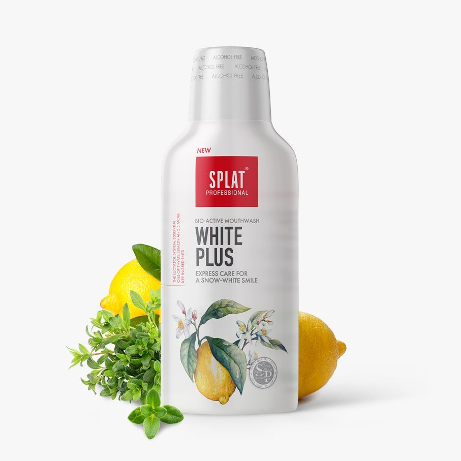 WHITE PLUS ústní voda 275ml